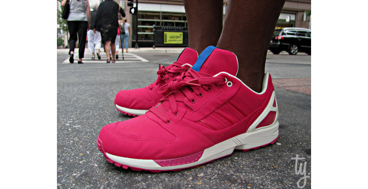Photo01 - ADIDAS ZX 77 RED/WHITE SAMPLE