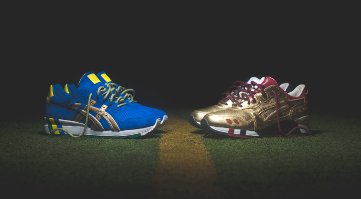 "Photo01 - Ronnie Fieg x ASICS ""KITH Football Equipment"" Pack"