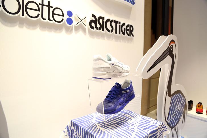 Photo04 - アシックスタイガーは、鶴の恩返しから着想を得たcoletteとのコラボレーションモデルGEL-LYTE Vを発売