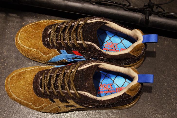 """Photo09 - アシックスタイガーから、リスをモチーフにしたmita sneakersとのコラボモデルGT-II """"Squirrel""""が登場"""