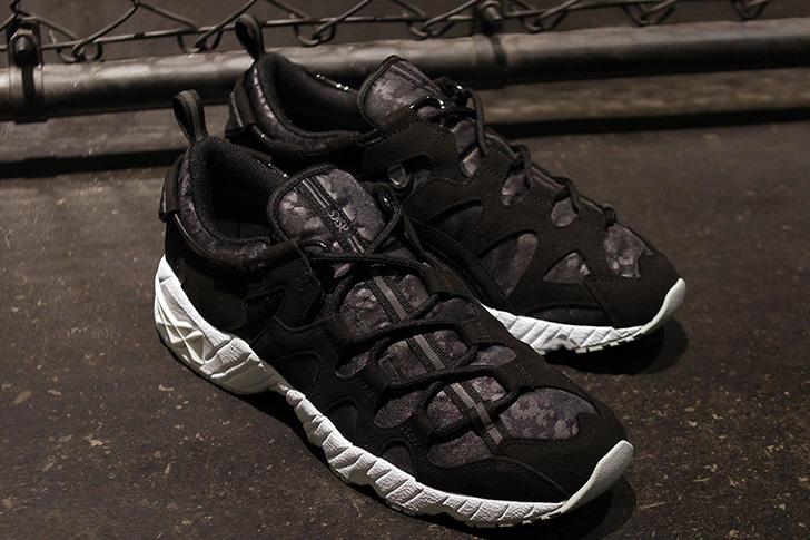 """Photo04 - アシックスタイガーから、mita sneakersとのコラボレーションモデルGEL-MAI """"黒豹""""が登場"""