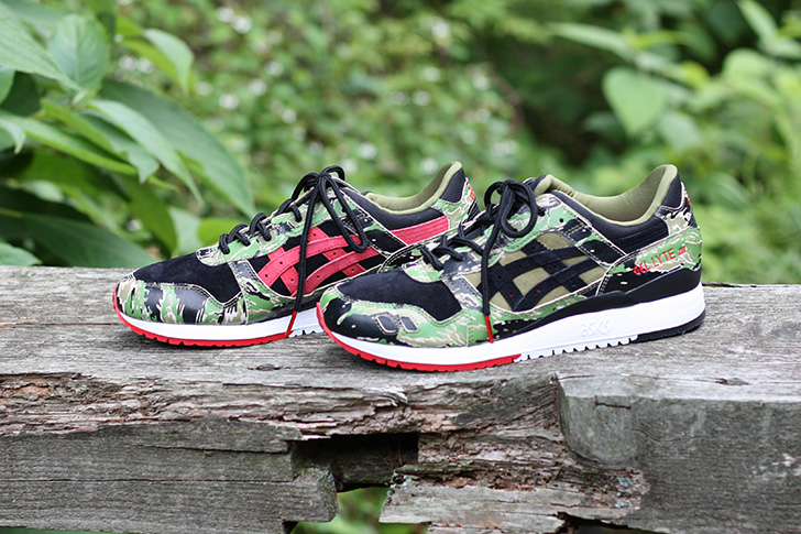 "Photo03 - ASICSTIGERは、atmosとのコラボレーションモデルGEL-LYTE Ⅲ for atmos ""GREENCAMO""を発売"