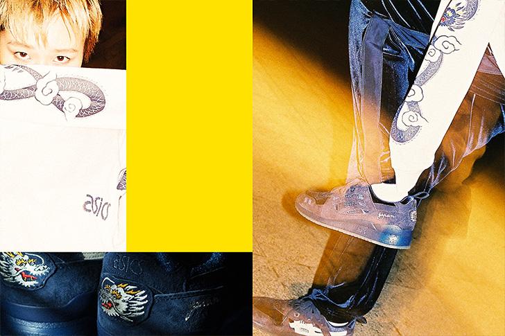 "Photo06 - アシックスタイガーとBEAMS、mita sneakersによるコラボレーションモデル第二弾GEL-LYTE III ""Souvenir Jacket""が発売"