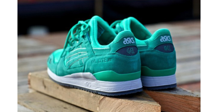 "Photo01 - RONNIE FIEG x ASICS GEL-LYTE III ""MINT"""