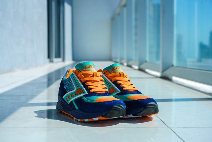"""Photo02 - ブルックスは、マイアミのスニーカーショップShoe Galleryとのコラボモデル""""84 Fins"""" Regentを発売"""