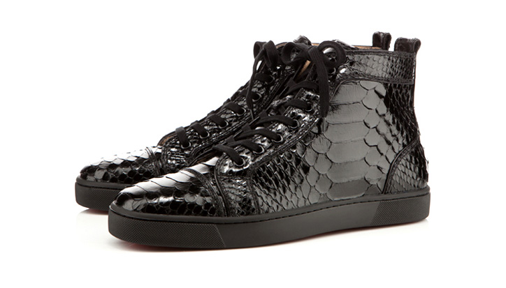 Photo01 - Christian Louboutin Python Louis
