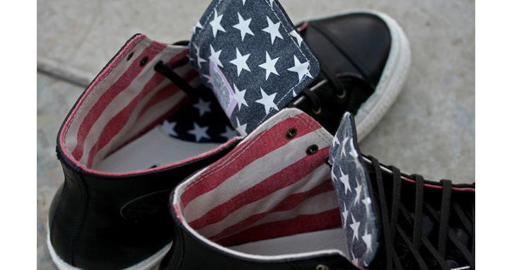 "Photo01 - CONVERSE CHUCK TAYLOR HI PREMIUM ""AMERICAN FLAG"""