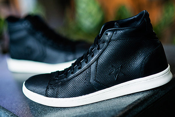 Photo01 - Converse by Varvatos 'Perforated Leather Hi-Top'