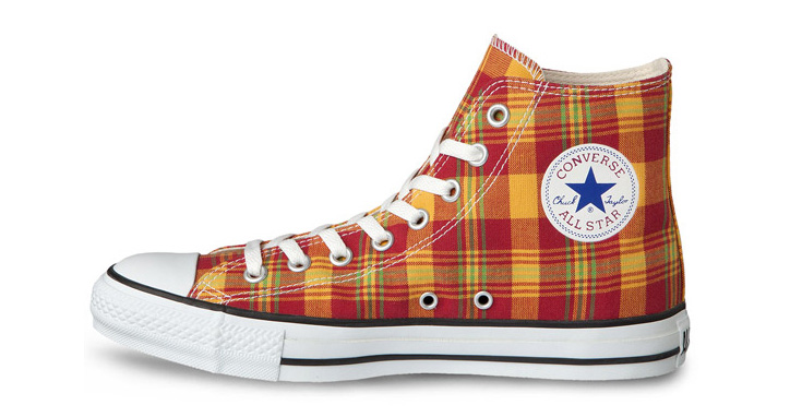 "Photo01 - CONVERSE CHUCK TAYLOR ""FRENCH MADRAS"" PACK"