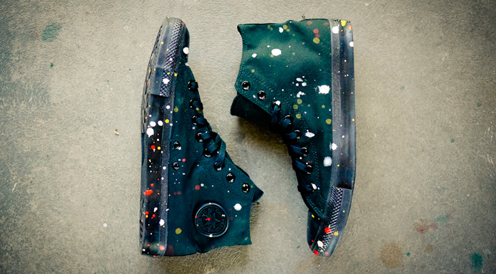Photo01 - Futura x Hennessy Custom Converse Chuck Taylor Box Set
