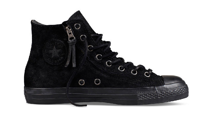 Photo01 - CONVERSE BY JOHN VARVATOS CHUCK TAYLOR DOUBLE ZIP BURNISHED SUEDE PACK