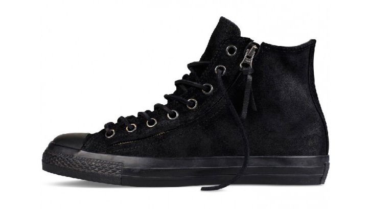 Photo02 - CONVERSE BY JOHN VARVATOS CHUCK TAYLOR DOUBLE ZIP BURNISHED SUEDE PACK