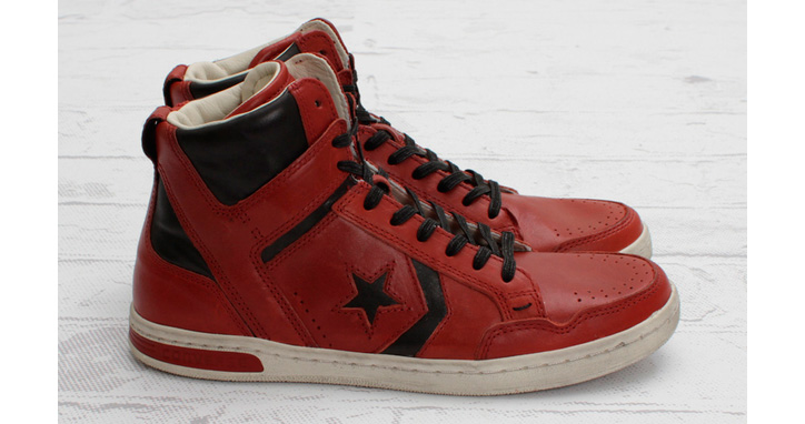 "Photo01 - JOHN VARVATOS FOR CONVERSE WEAPON MID ""FADED ROSE"""