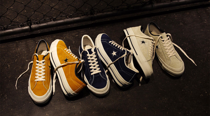 "Photo01 - CONVERSE の新プロジェクト""TIME LINE""より ONE STAR J VTG ""made in JAPAN"" が発売"