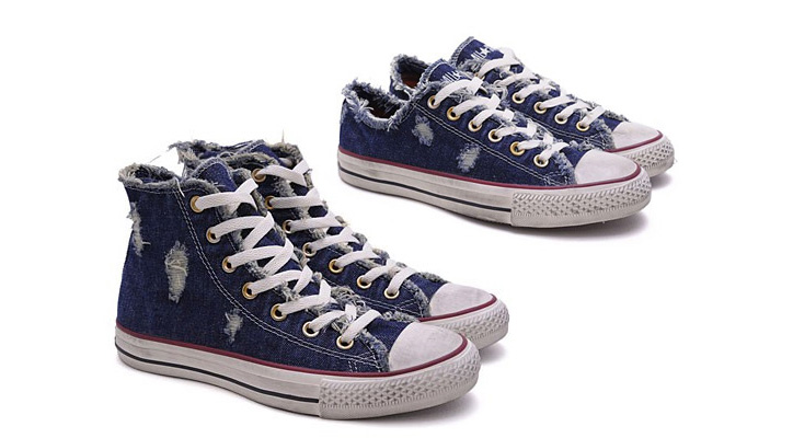 Photo01 - Converse Chuck Taylor All Star 'Denim Distressed' Pack