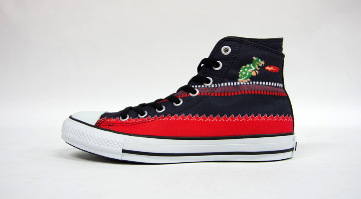 "Photo02 - CONVERSE ALL STAR MARIO BROS. SC HI ""LIMITED EDITION for STAR SHOP"""