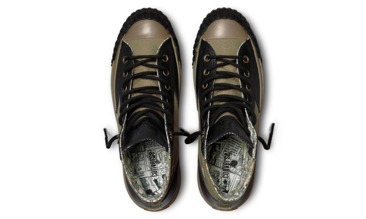 Photo06 - Dr. Romanelli Beetle Bailey vs. Popeye x Converse Chuck Taylor All Star Sneakers