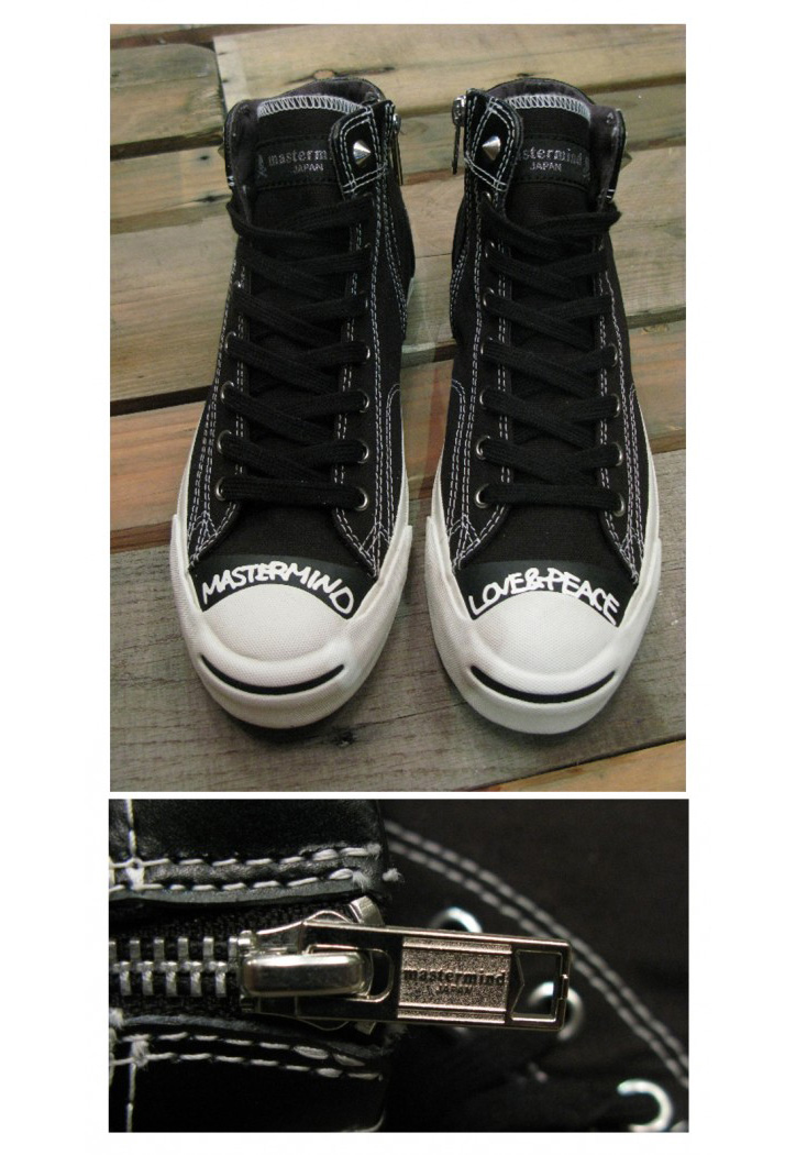 Photo04 - mastermind JAPAN x Converse Jack Purcell Hi Zip New Images
