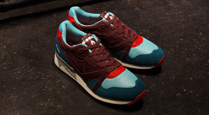 "Photo01 - Hanon x diadora N.9000 ""The Saturday Special"" が日本国内2店舗で発売"