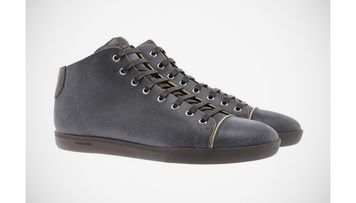 Photo01 - Dior Homme Raw Edged Suede Sneakers