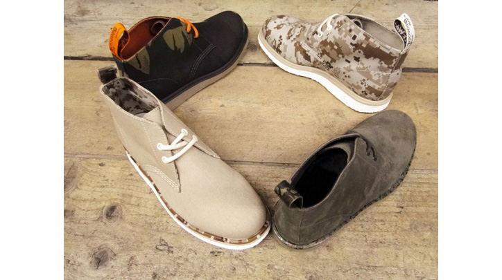 Photo01 - Dr. Martens Camo Wedge Collection