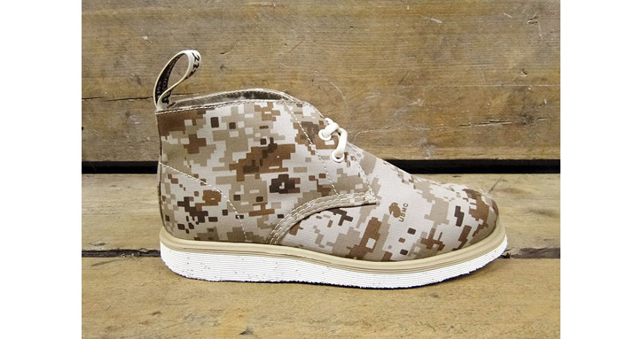 Photo02 - Dr. Martens Camo Wedge Collection