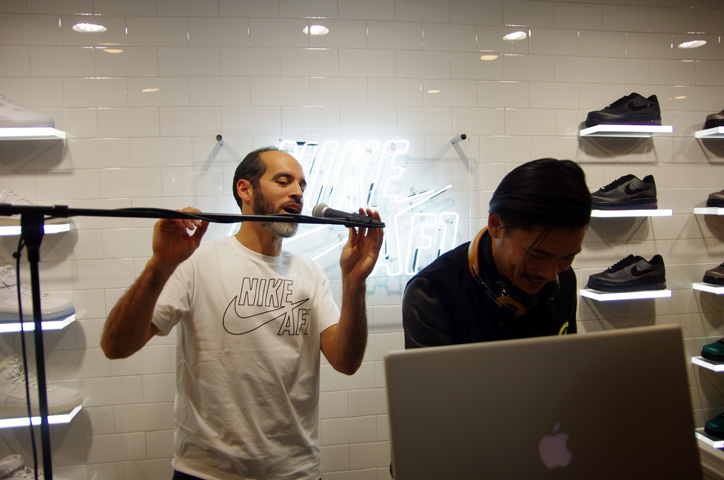 Photo17 - Interview with Bobbito Garcia & Kevin Couliau at NIKE AIR FORCE 1 THE PIVOT POINT