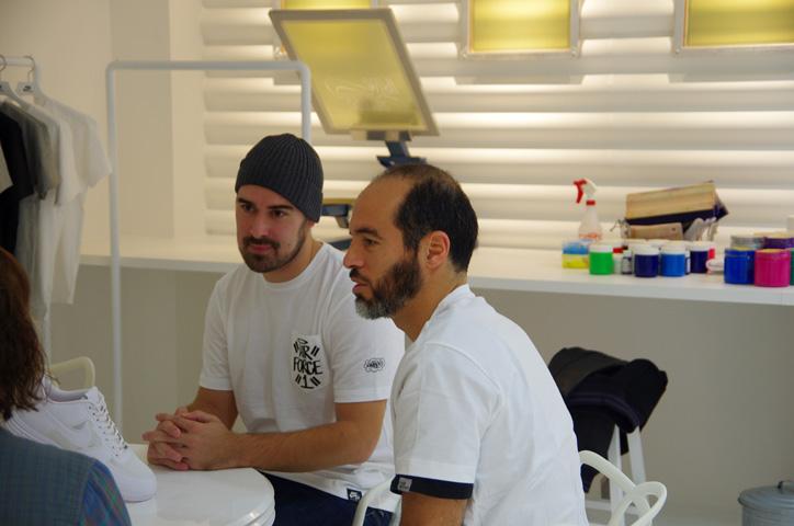 Photo Bobbito 02 - Interview with Bobbito Garcia & Kevin Couliau at NIKE AIR FORCE 1 THE PIVOT POINT