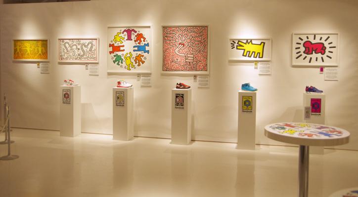 Reebok x Keith Haring Exhibition