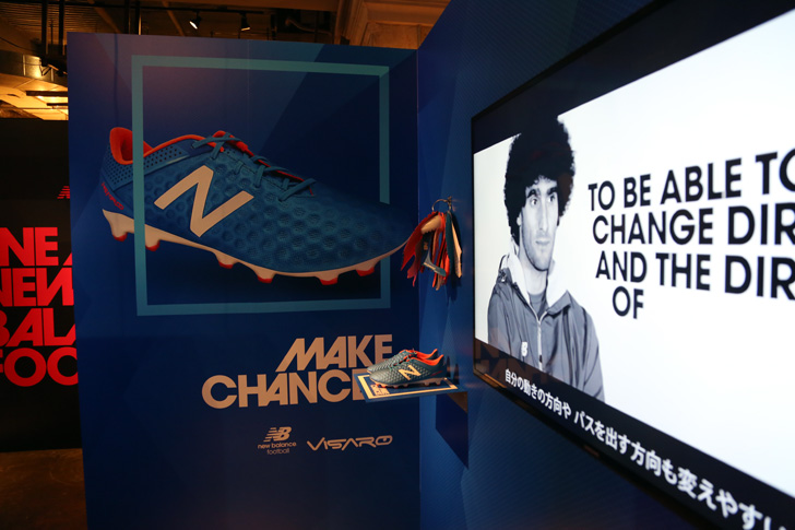 Photo08 - マンチェスター・ユナイテッド所属のマルアン・フェライーニ選手を招いた New Balance FOOTBALL 2015FW BOOTS REVEAL PARTY が開催