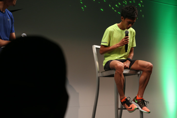 Photo08 - ナイキ、大迫傑選手と為末大氏を招きナイキ ズーム エア コレクションを発表