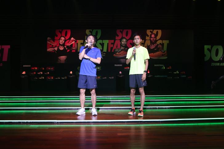 Photo12 - ナイキ、大迫傑選手と為末大氏を招きナイキ ズーム エア コレクションを発表