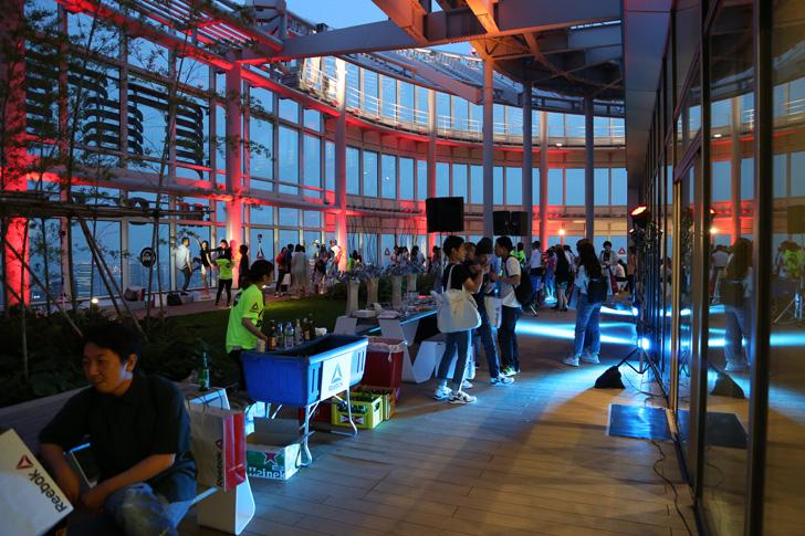 Photo07 - リーボックは、ZPump Fusionのニューカラーの発売を記念し Pump Night Party を開催