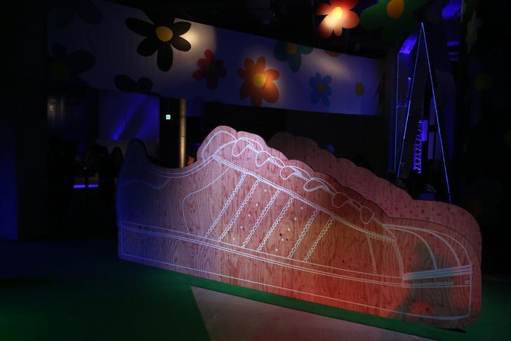 Photo04 - アディダスは、Superstarをテーマに一夜限りのアソビ場を創り出すCELEBRATION PARTY TOKYO by Pharrell Williams & YOONを開催