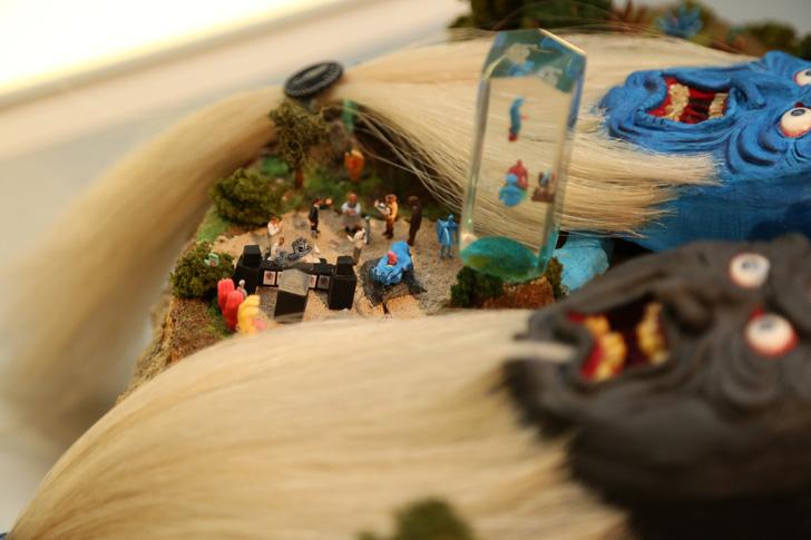 Photo11 - SCREAMING HAND 30th ANNIVERSARY ART SHOW at BEAMS T Recap