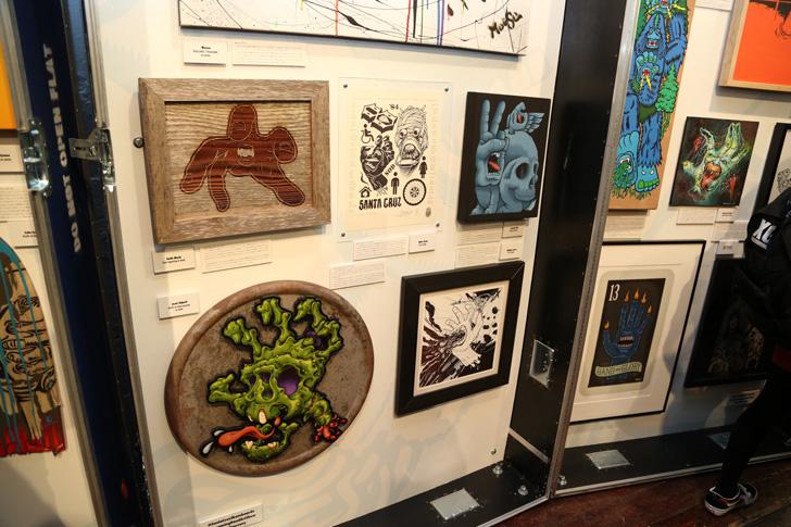 Photo14 - SCREAMING HAND 30th ANNIVERSARY ART SHOW at BEAMS T Recap