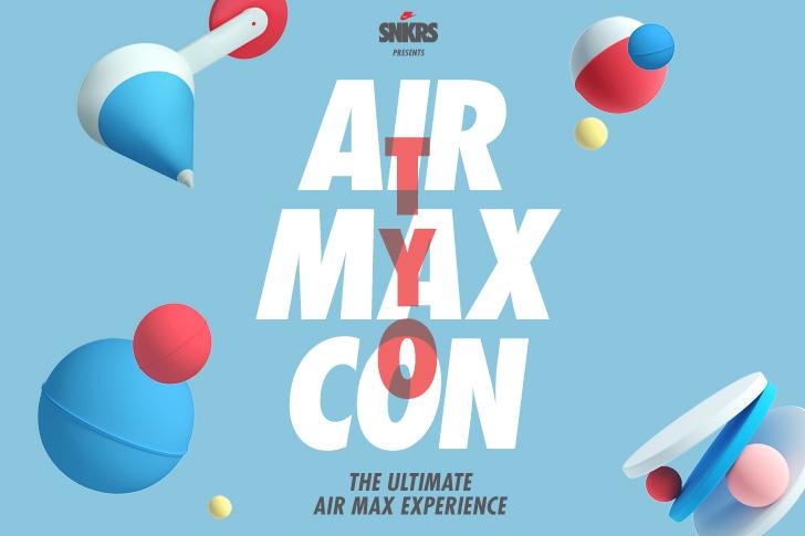 Photo01 - ナイキ、AIR MAXのすべてを体験できる期間限定エキシビションスペースAIR MAX CONをスタート