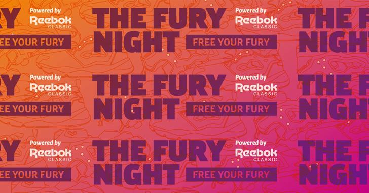 Photo01 - リーボック クラシックは、Instapump FuryとFuryliteをテーマにしたイベントTHE FURY NIGHTを開催