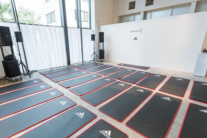 Photo07 - アディダスは、UltraBOOST X発売を記念した女性限定ポップアップランニングステーションLOUNGE Xを表参道にオープン