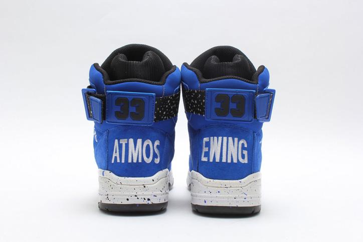 Photo06 - ユーイングは、atmosとのコラボレーションモデル EWING ATHLETICS x atmos 33 HI を発売