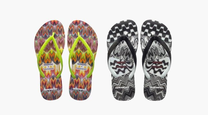 Photo01 - Missoni x Havaianas Flip-Flops