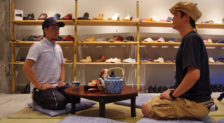Photo01 - Interview with TIMAI Takashi Imai x mita sneakers Shigeyuki Kunii