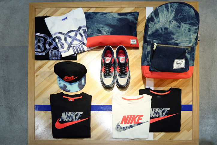 "Photo02 - Interview with Sports Lab by atmos Director Koji ""NIKE AIR MAX 90 Bleach Denim Collection"""