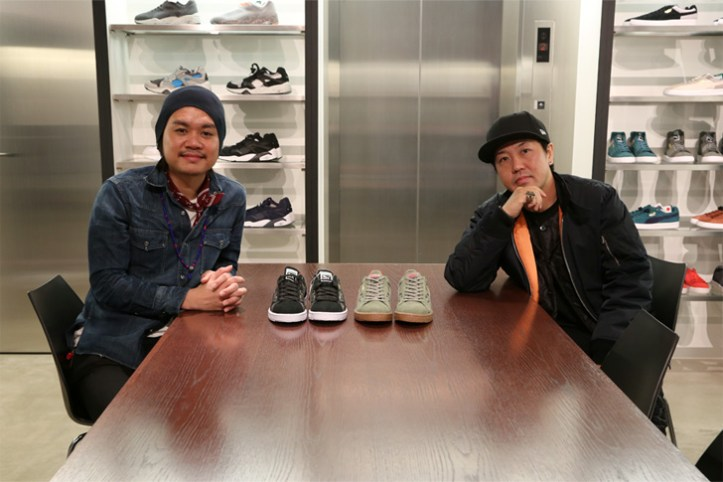 "Photo01 - SBTG Mark  x mita sneakers 国井栄之氏 Puma CLYDE CONTACT ""First Contact"" ""SBTG x mita sneakers"" インタビュー"