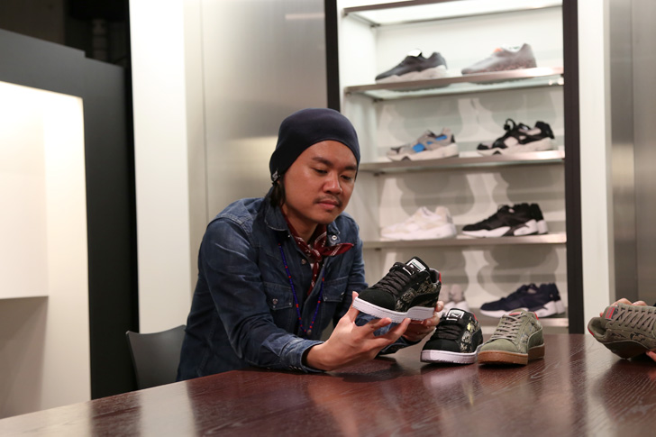 "Photo02 - SBTG Mark  x mita sneakers 国井栄之氏 Puma CLYDE CONTACT ""First Contact"" ""SBTG x mita sneakers"" インタビュー"
