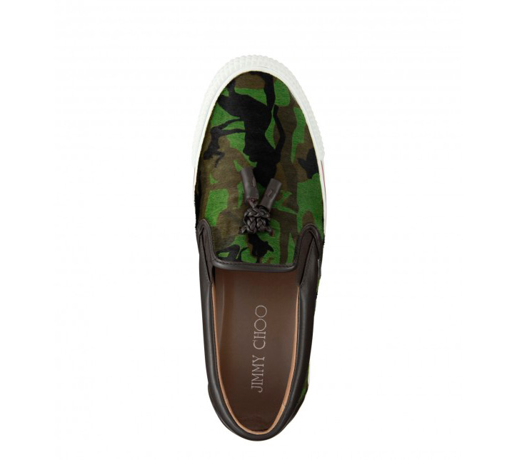 Photo04 - JIMMY CHOO CAMOUFLAGE TASSEL LOAFER