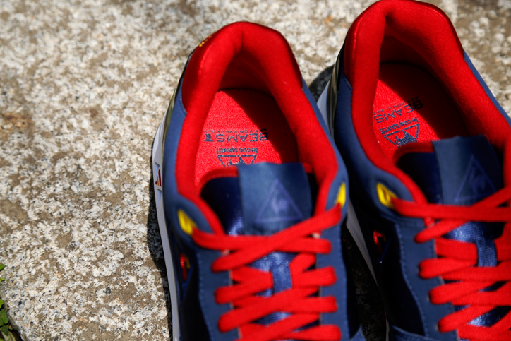Photo03 - Le coq sportif x BEAMS T 「LCS-R1000」が発売