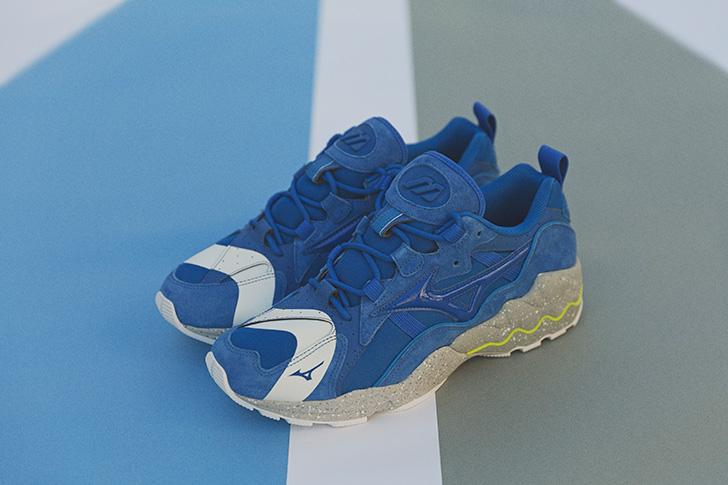 "Photo03 - ミズノから、mita sneakersとの初となるコラボレートモデルWAVE RIDER 1 ""NO BORDER""が登場"