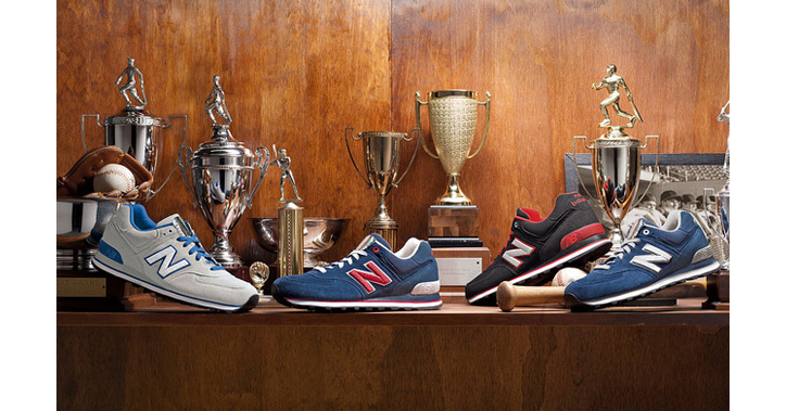 "Photo01 - NEW BALANCE 574 ""SEASON TICKET"" COLLECTION"