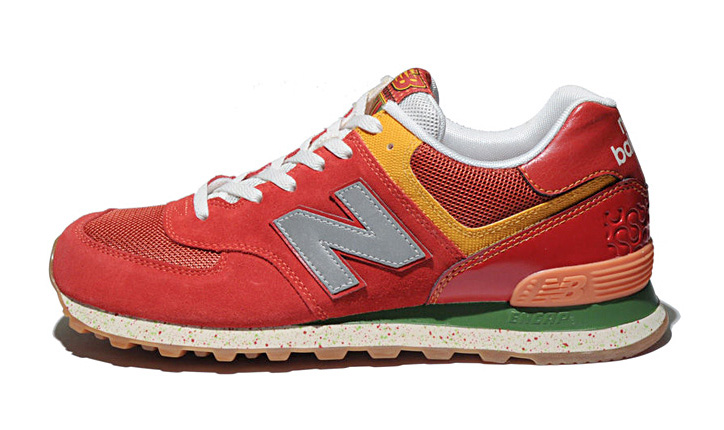Photo02 - NEW BALANCE M574 TROPICAL FRUIT PACK